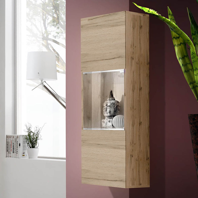 Fly Type-22 Wall Mounted Floating Bookcase Cabinet - Meble Furniture