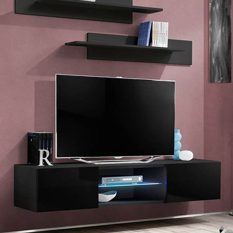 "Fly Type-33 Wall Mounted Floating Modern 63"" TV Stand - Meble Furniture"