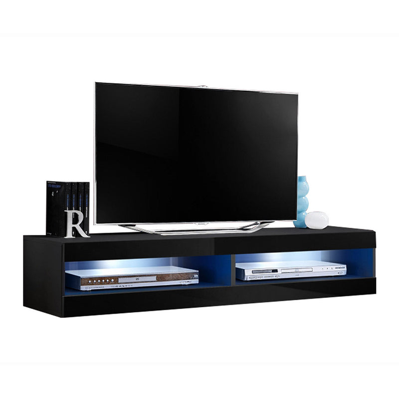 "Fly Type-34 Wall Mounted Floating Modern 63""-126"" TV Stand - Meble Furniture & Rugs"