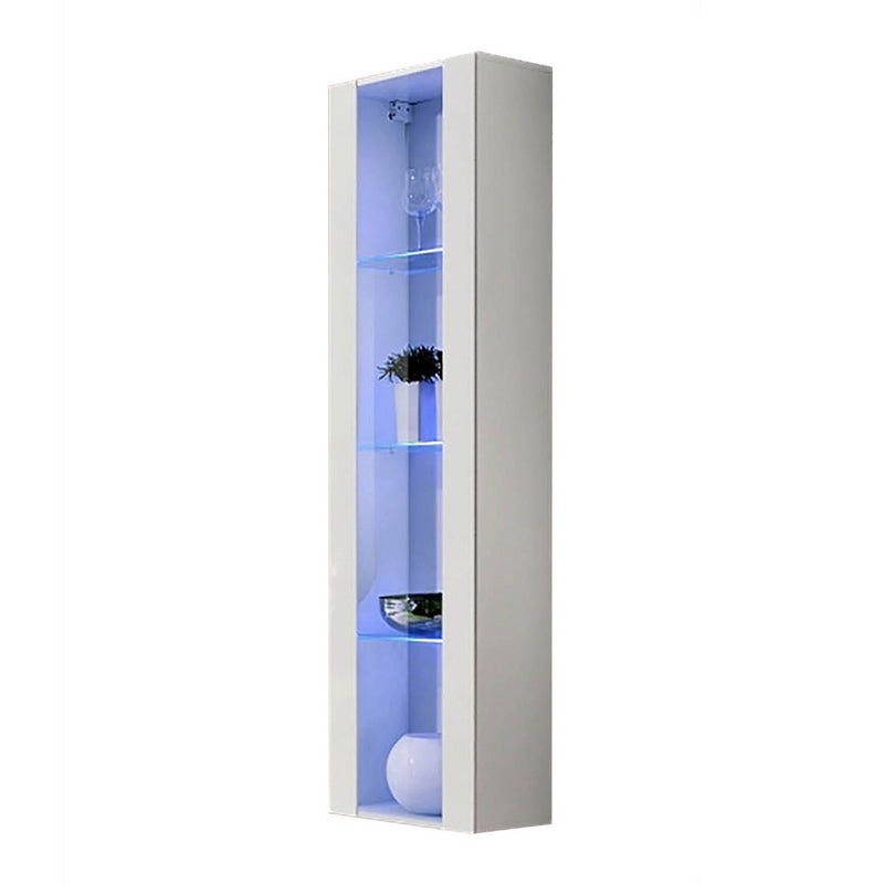 Fly Type-41 Wall Mounted Floating Bookcase Cabinet - Meble Furniture & Rugs