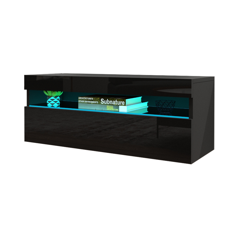 "Ada Wall Mounted Floating Modern 39""-78"" TV Stand - Meble Furniture"