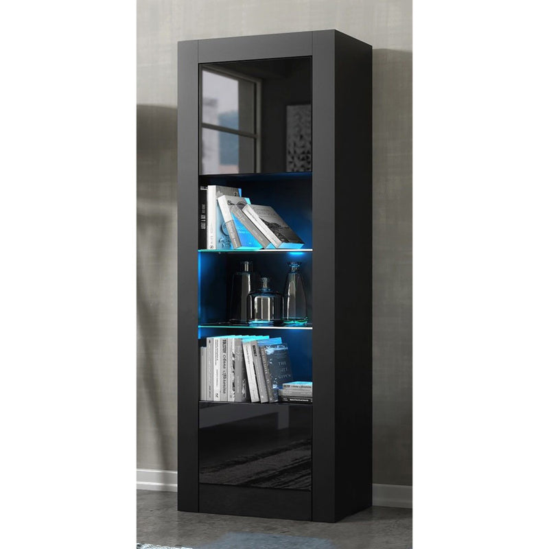 "Milano Modern 25"" Bookcase - Meble Furniture"