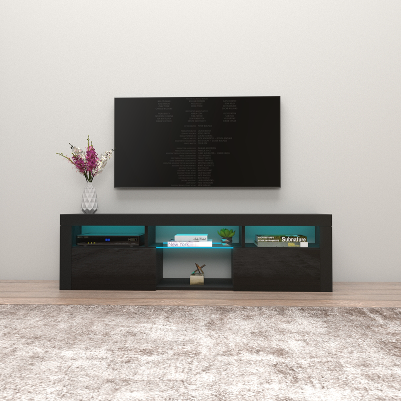 "Bari 160 Wall Mounted Floating Modern 63"" TV Stand"