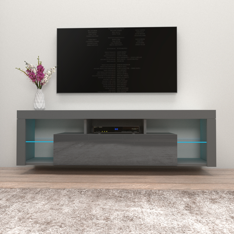 "Milano 160 Wall Mounted Floating Modern 63"" TV Stand - Meble Furniture"