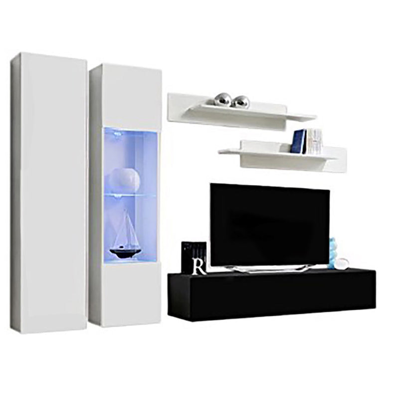 Fly A 30TV Wall Mounted Floating Modern Entertainment Center - Meble Furniture & Rugs