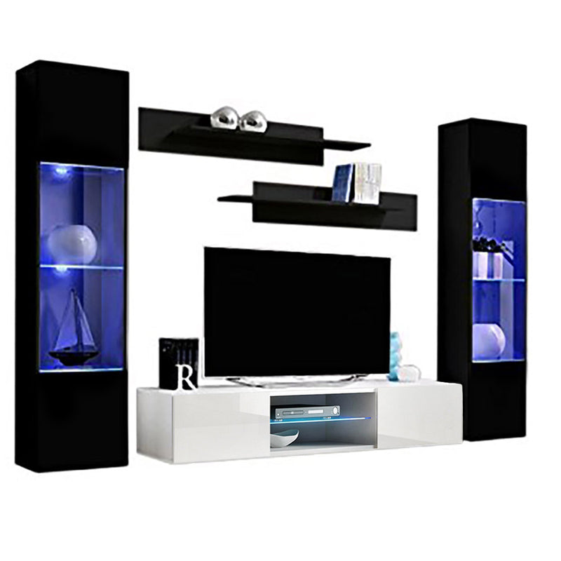 Fly A 33TV Wall Mounted Floating Modern Entertainment Center