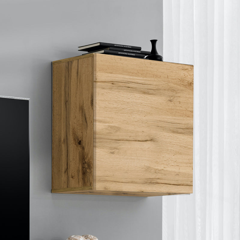 Fly Type-60 Wall Mounted Floating Bookcase Cabinet - Meble Furniture