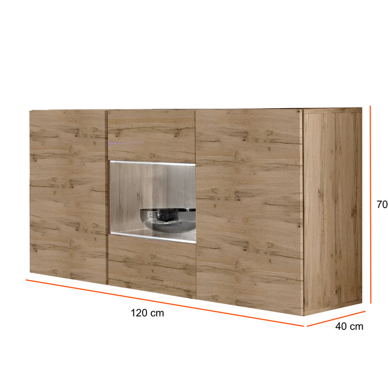 Fly Type-SBII Wall Mounted Floating Sideboard - Meble Furniture