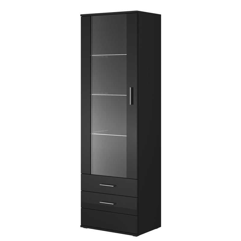 "Soho S1 1D3S Modern 24"" Bookcase - Meble Furniture"