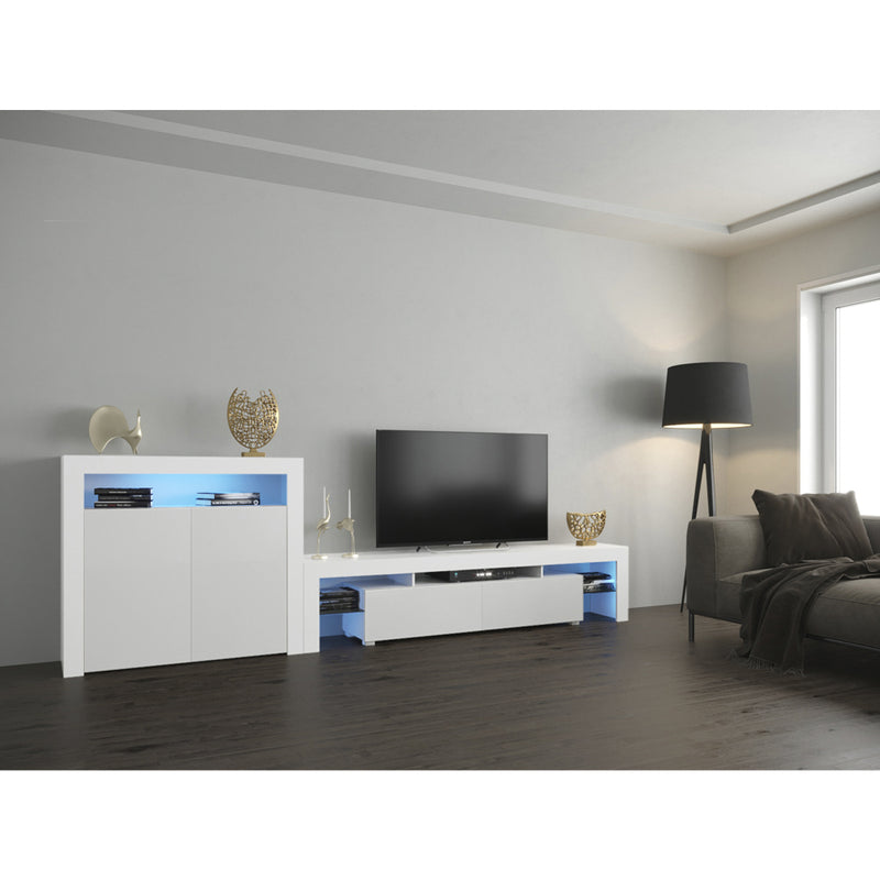 Milano Set 200-2D Modern Wall Unit Entertainment Center - Meble Furniture & Rugs