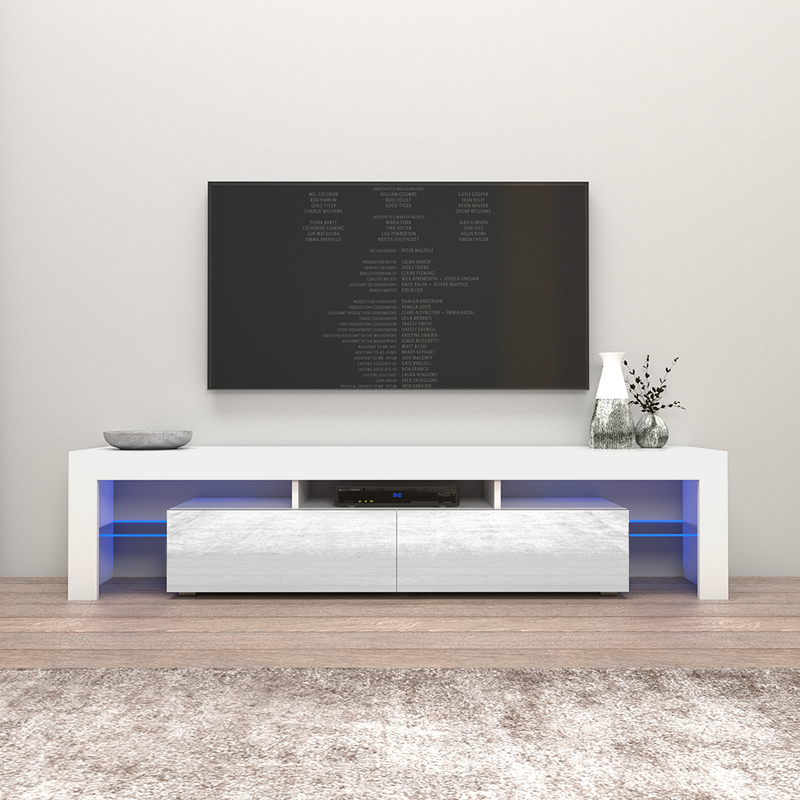 "Milano 200 Modern 79"" TV Stand - Meble Furniture"