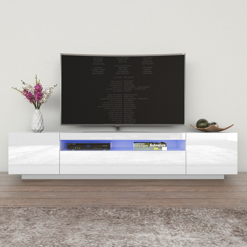 "Miami 200 Modern 79"" TV Stand - Meble Furniture"