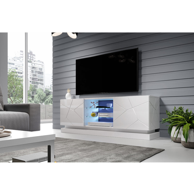 "Qiu Modern 63""-79"" TV Stand - Meble Furniture"