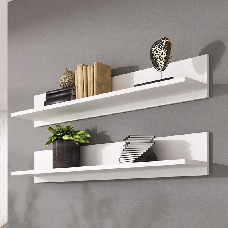 Soho S5 Wall Mounted Floating 2 Piece Shelf Set - Meble Furniture