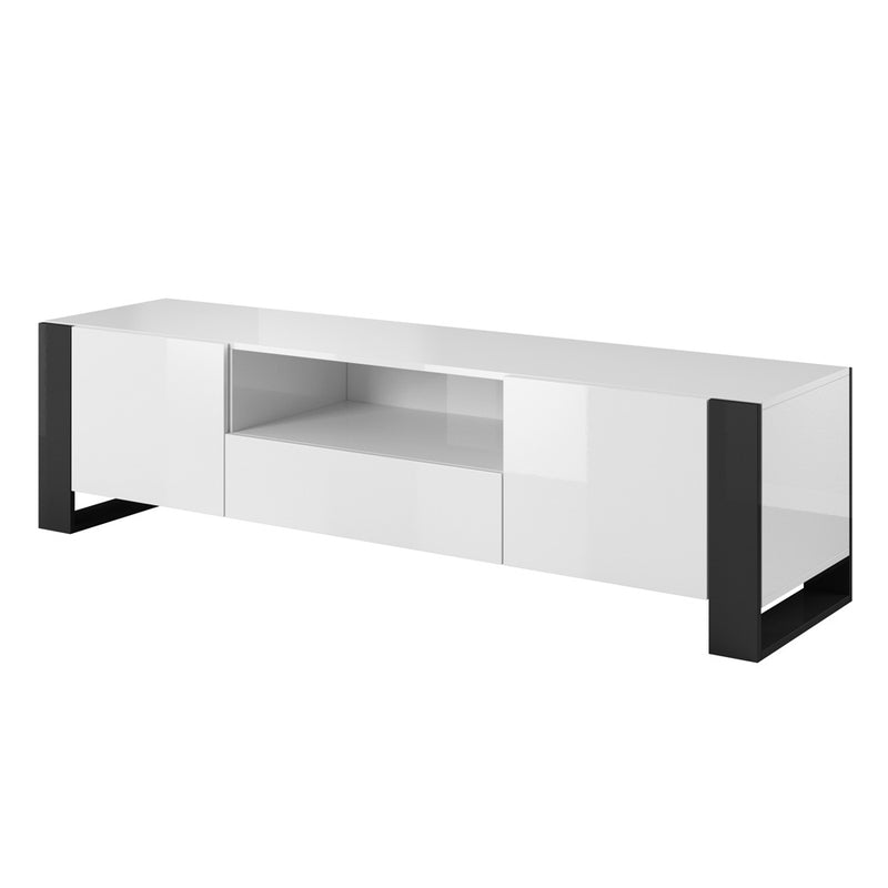 "Woody Modern 71"" TV Stand - Meble Furniture & Rugs"