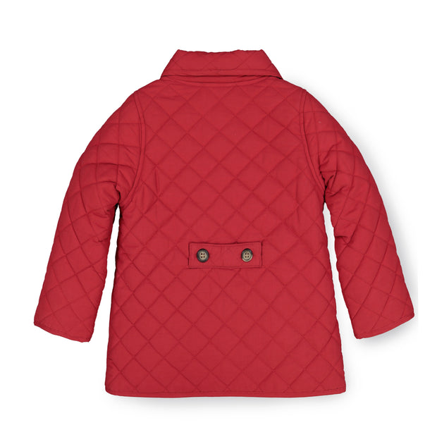 Double Breasted Quilted Riding Jacket - Hope & Henry Girl