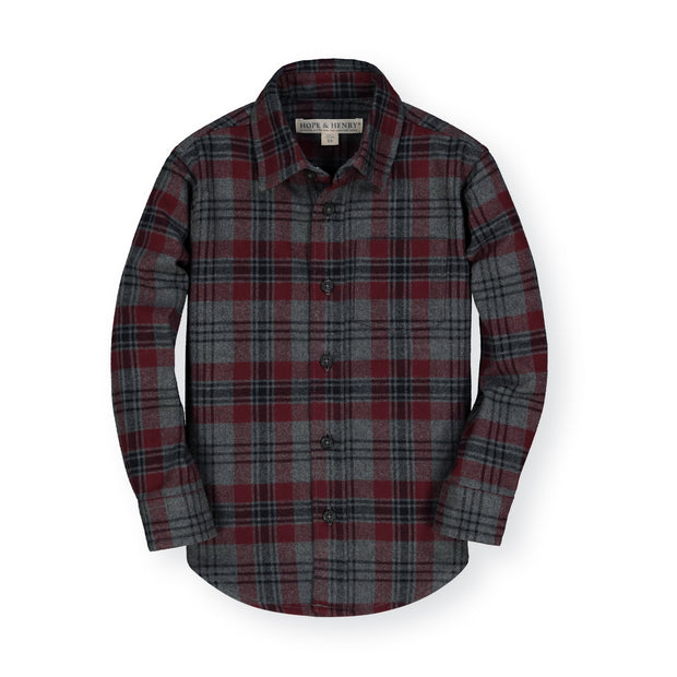 Brushed Flannel Button Down Shirt