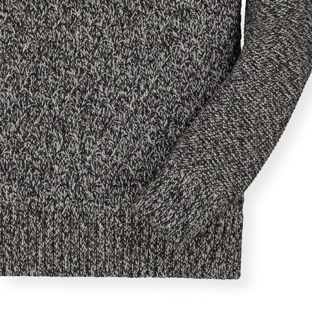 Half Zip Cable Pullover Sweater