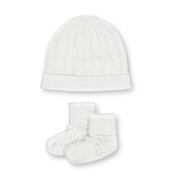 Sweater Beanie and Bootie Set - Hope & Henry Baby