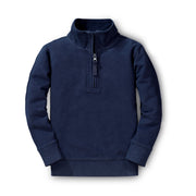 French Terry Half-Zip Pullover