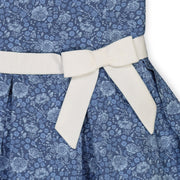 Tea Dress with Collar and Sash