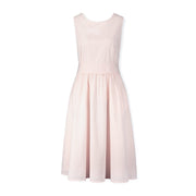 A-Line Dress with Waist Sash - Hope & Henry
