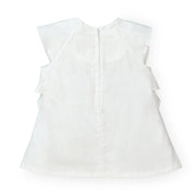 A-Line Ruffle Top - Hope & Henry