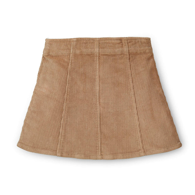 A-Line Snap Front Skirt - Hope & Henry