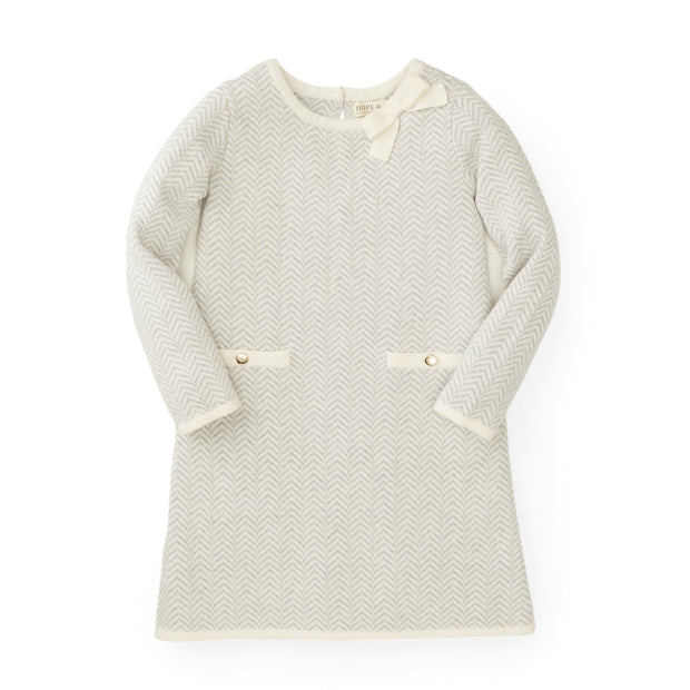 Bow Detail Sweater Dress - Hope & Henry