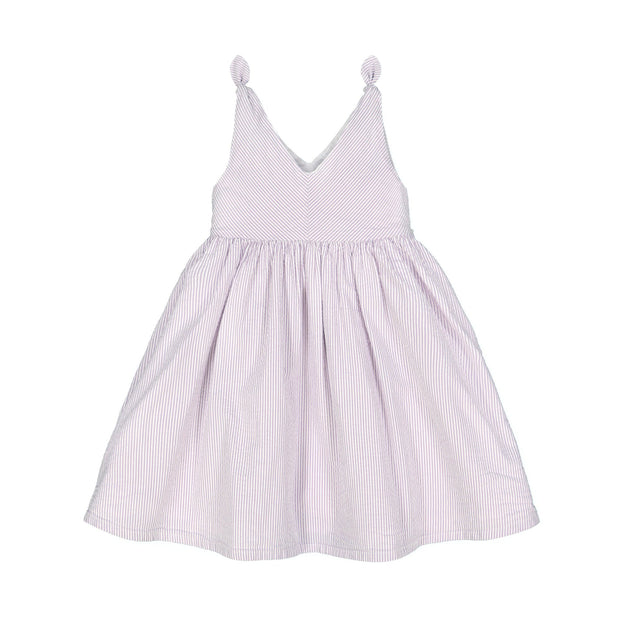 Bow Shoulder Swing Dress - Hope & Henry Girl