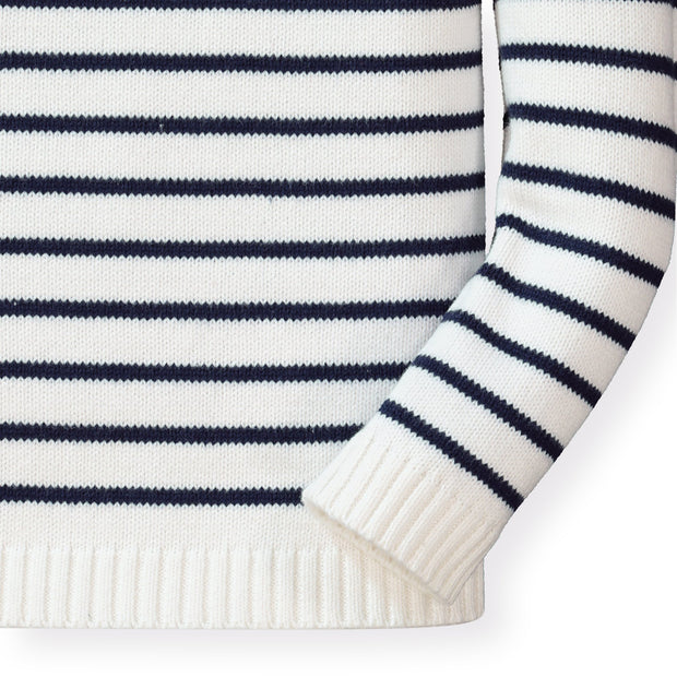 Breton Pullover Sweater - Hope & Henry Girl