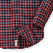 Brushed Flannel Button Down Shirt - Hope & Henry Boy