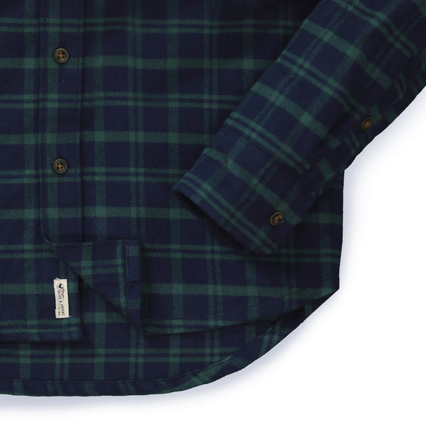Brushed Flannel Button Down Shirt - Hope & Henry Men