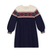 Bubble Sleeve Sweater Dress - Hope & Henry Girl