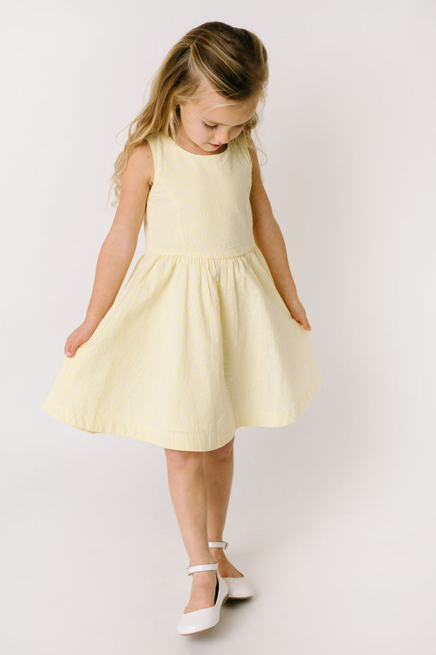 Button Back Party Dress - Hope & Henry Girl