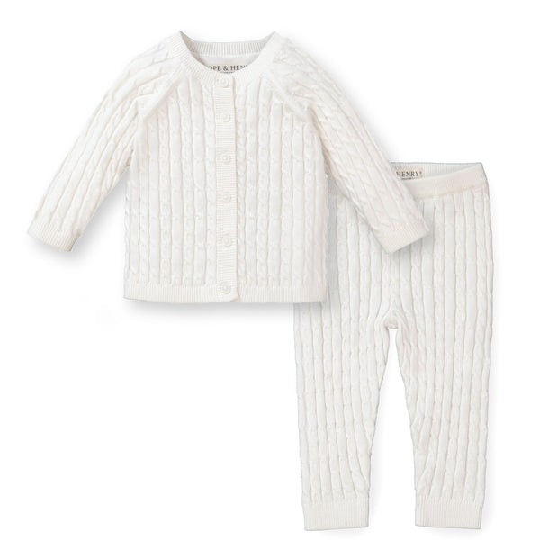 Cable Cardigan and Legging Set - Hope & Henry