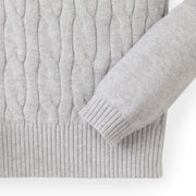 Cable Front Sweater - Hope & Henry Girl