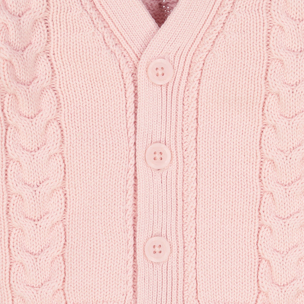 Cable Knit Cardigan Sweater - Hope & Henry Baby