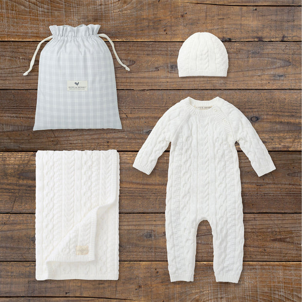Cable Knit Gift Set - Hope & Henry