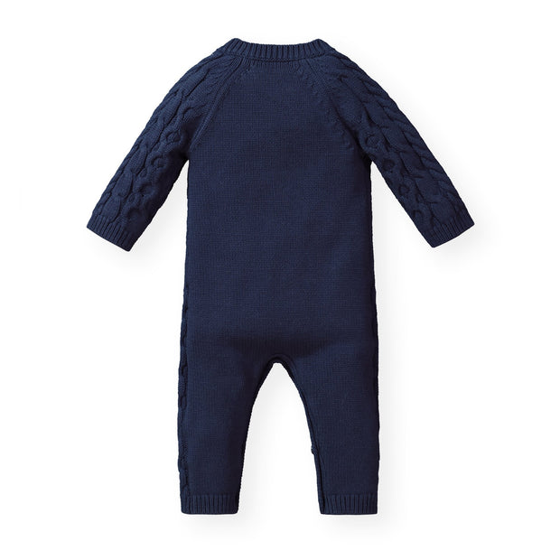 Cable Knit Sweater Romper - Hope & Henry Baby