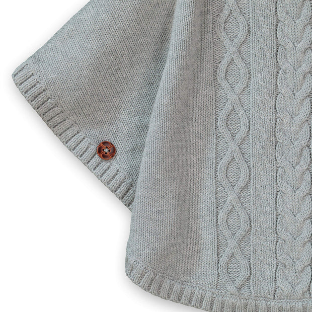 Cable Sweater Cape - Hope & Henry Girl