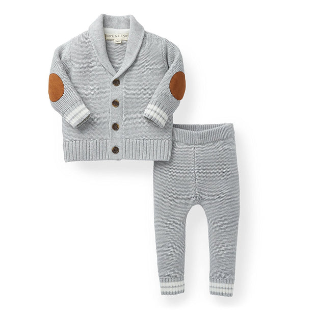 Cardigan and Sweater Legging Set - Hope & Henry Baby
