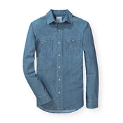 Chambray Button Down Shirt - Hope & Henry