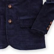 Corduroy Blazer with Elbow Patches - Hope & Henry Boy