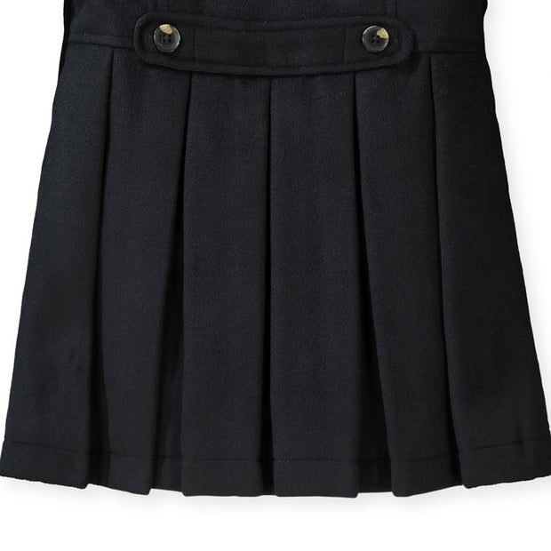 Dressy Pleated Back Coat - Hope & Henry Girl