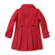 Dressy Pleated Back Coat - Hope & Henry