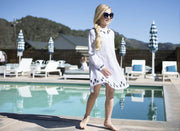 Embroidered Caftan Cover-Up - Hope & Henry