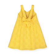Eyelet Bow Back Dress - Hope & Henry Girl