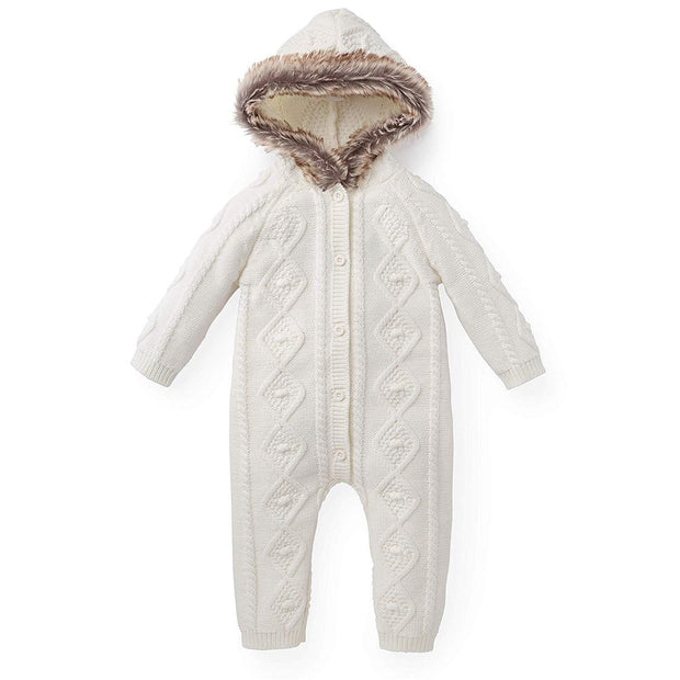 Faux Fur Hooded One Piece - Hope & Henry
