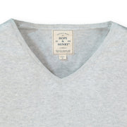 Fine Gauge V-Neck Sweater - Hope & Henry